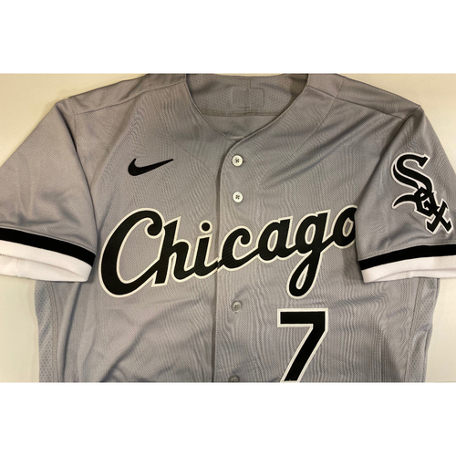Photo of Tim Anderson 2020 Team Issued Grey Road Jersey - Size 42