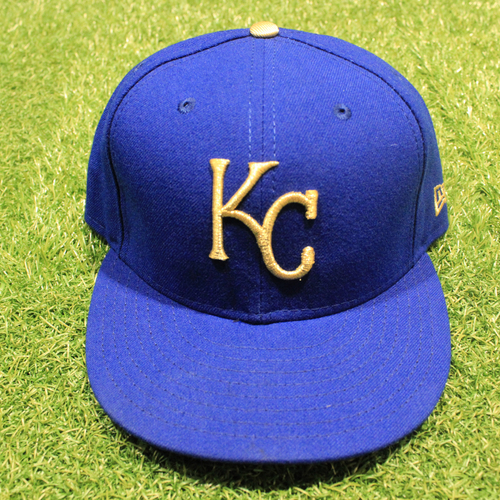 Photo of Game-Used 2020 Gold Hat: Josh Staumont #63 (Size 7 3/8 - DET @ KC 9/25/20)