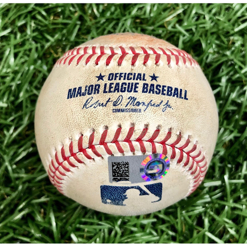 Photo of Game Used Baseball: Joey Wendle Double off Ken Giles - July 26, 2020 v TOR