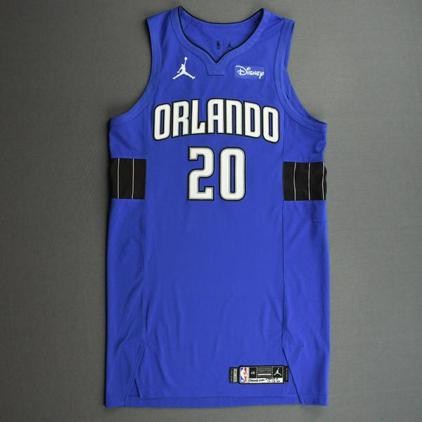 Image of Markelle Fultz - Orlando Magic - Kia NBA Tip-Off 2020 - Game-Worn Statement Jersey