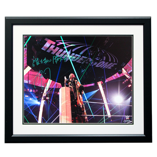 "Photo of Asuka SIGNED 16'' x 20"" Framed Photo ."
