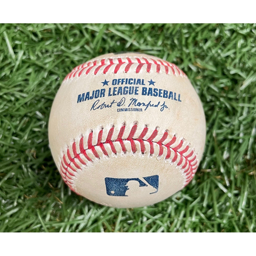 Photo of Game Used ALDS Baseball: Nick Pivetta strikes out Joey Wendle - Bottom 6 - October 7, 2021 v BOS