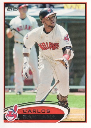 Photo of 2012 Topps #656 Carlos Santana