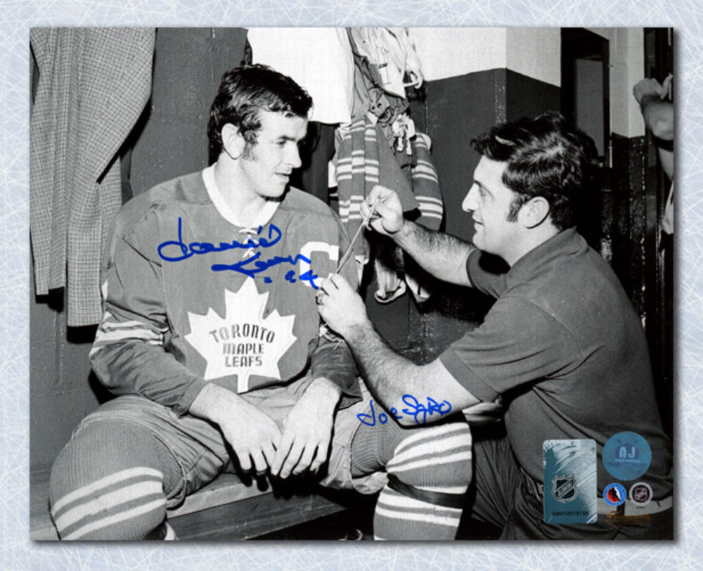 Dave Keon & Joe Sgro Toronto Maple Leafs Dual Signed New Captain 8x10 Photo