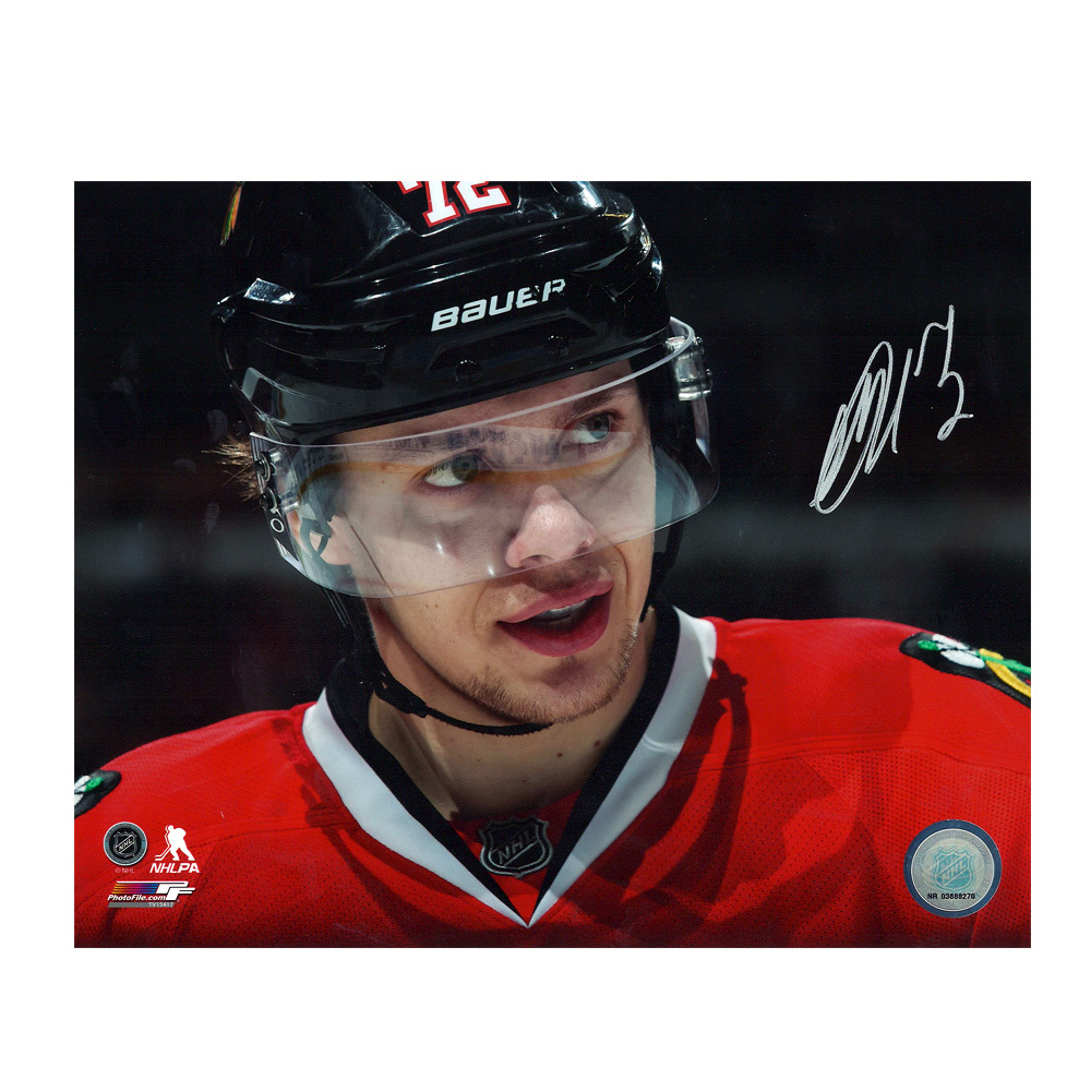 ARTEMI PANARIN Signed Chicago Blackhawks 8 X 10 Photo - 70302