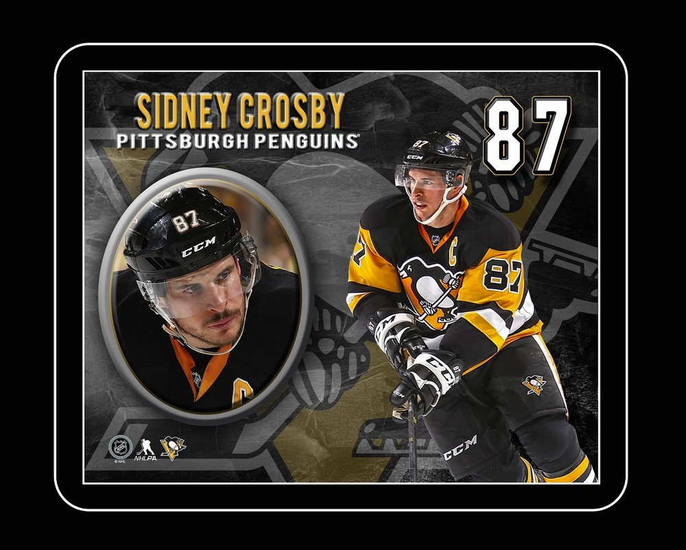 Sidney Crosby - Framed 10x13