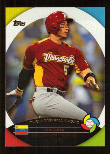 Photo of 2013 Topps WBC Stars #WBC12 Carlos Gonzalez
