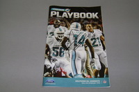 DOLPHINS - JARVIS LANDRY SIGNED FINSIDERS PLAYBOOK PROGRAM (DOLPHINS VS COWBOYS AUGUST 23