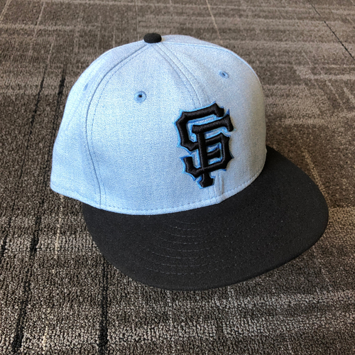 Photo of San Francisco Giants - Game Used Father's Day Cap - Mystery Player/Coach (size 7 3/8)