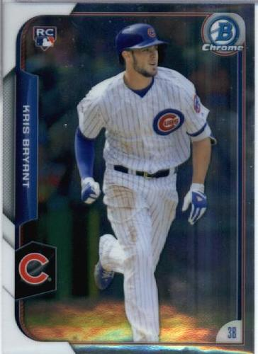 Photo of 2015 Bowman Chrome #200 Kris Bryant RC