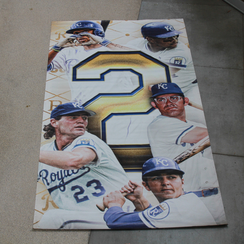 Photo of Extra Large Team-Issued Banner: 2