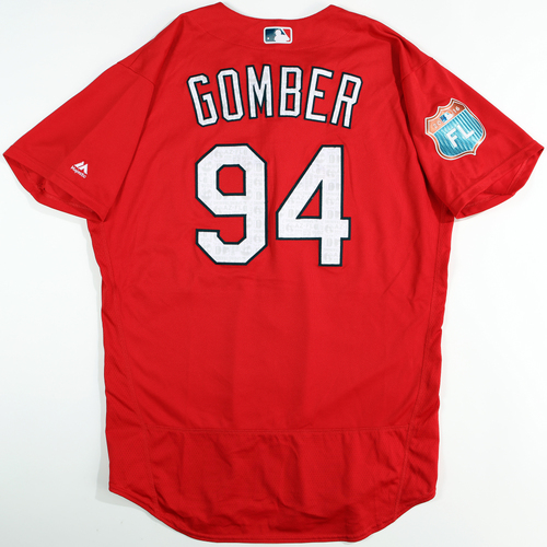 Photo of 2016  Spring Training -  Game-Used Jersey - Austin Gomber (Cardinals) - Size 48