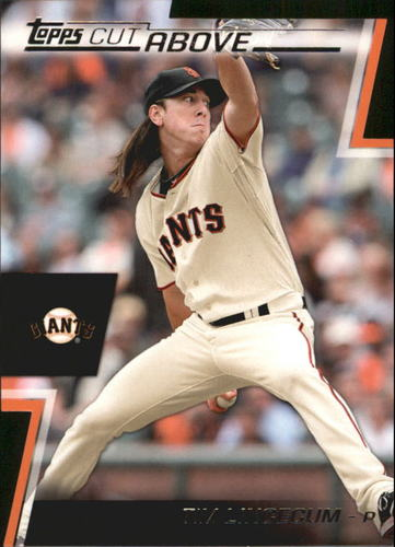 Photo of 2012 Topps A Cut Above #ACA17 Tim Lincecum