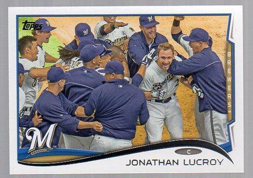 Photo of 2014 Topps #285 Jonathan Lucroy
