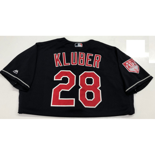 Photo of Corey Kluber 2019 Team-Issued Spring Training Jersey