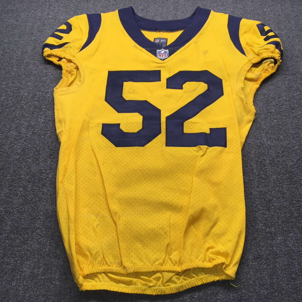 STS - Rams Ramik Wilson Historic Monday Night Game Used Jersey Size 42 (11/19/18)