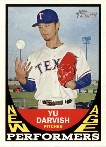 Photo of 2016 Topps Heritage New Age Performers #NAPYD Yu Darvish