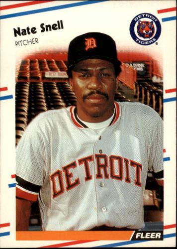 Photo of 1988 Fleer #70 Nate Snell