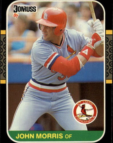 Photo of 1987 Donruss #480 John Morris