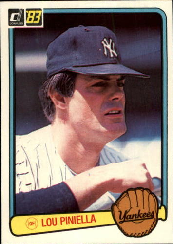 Photo of 1983 Donruss #335 Lou Piniella