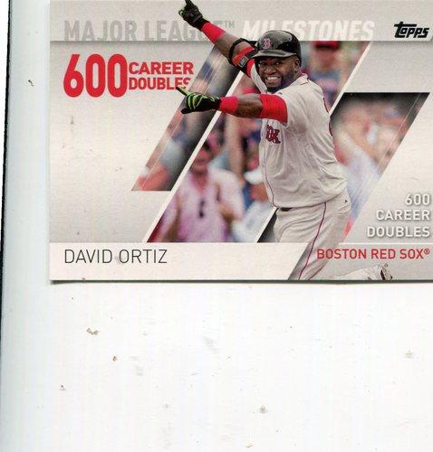 Photo of 2017 Topps Major League Milestones #MLM13 David Ortiz