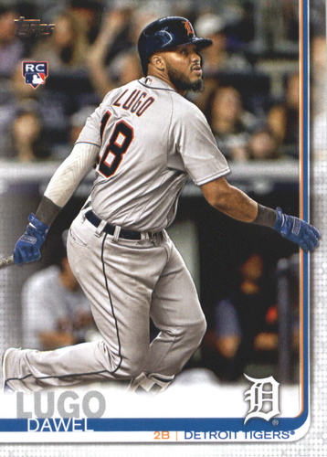 Photo of 2019 Topps #660 Dawel Lugo RC