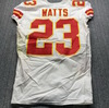 International Series - Chiefs Armani Watts Game Used Jersey (11/18/19) Size 40