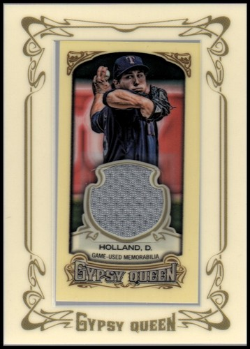 Photo of 2014 Topps Gypsy Queen Framed Mini Relics #GMRDH Derek Holland