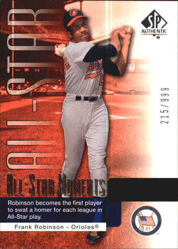 Photo of 2004 SP Authentic #149 Frank Robinson ASM