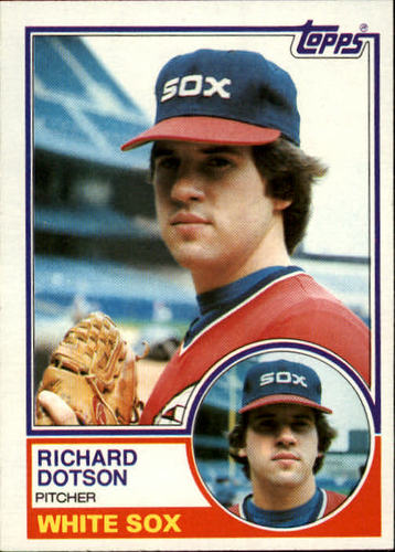 Photo of 1983 Topps #46 Richard Dotson