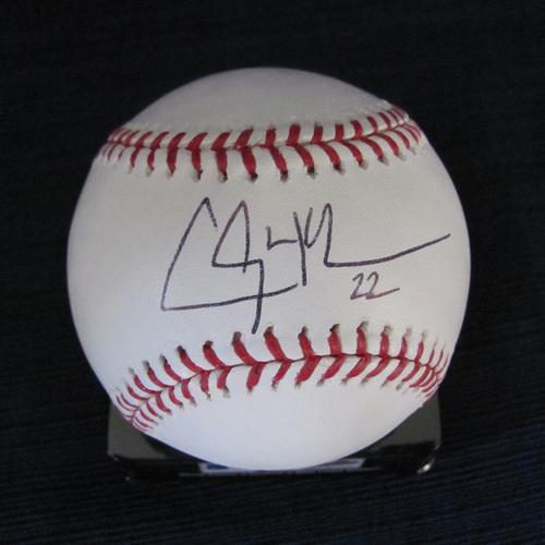 UMPS CARE AUCTION: Clayton Kershaw Signed Baseball