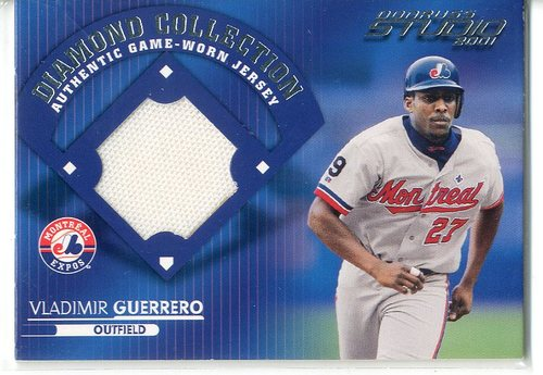 Photo of 2001 Studio Diamond Collection #DC1 Vladimir Guerrero -- Hall of Famer