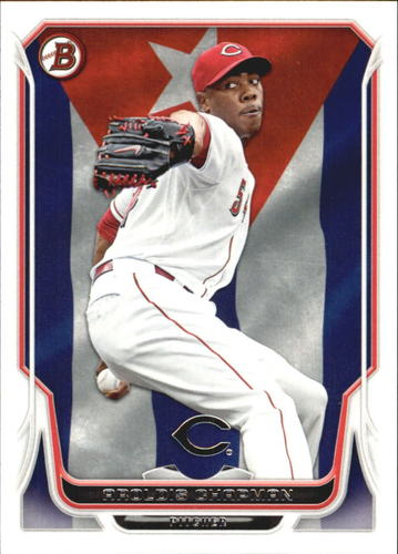 Photo of 2014 Bowman Hometown #62 Aroldis Chapman