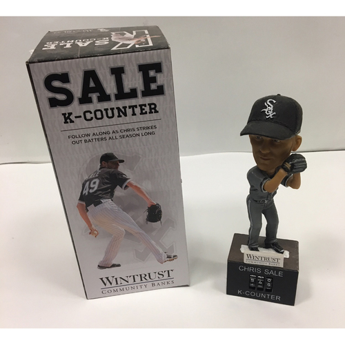 Photo of Chris Sale K-Counter Bobblehead