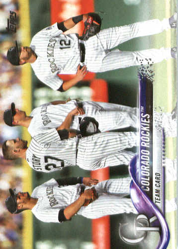 Photo of 2018 Topps #314 Colorado Rockies