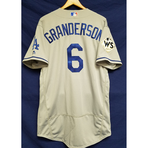 Photo of Curtis Granderson 2017 Road World Series Team-Issued Jersey