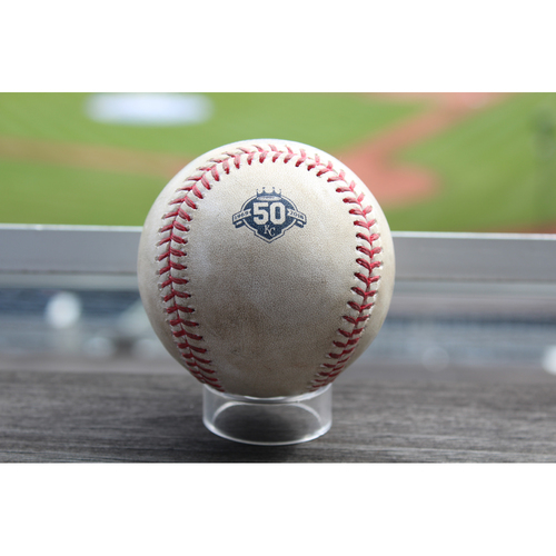 Photo of Game-Used Baseball: Yolmer Sanchez 275th Career Hit (CWS at KC - 3/31/18)