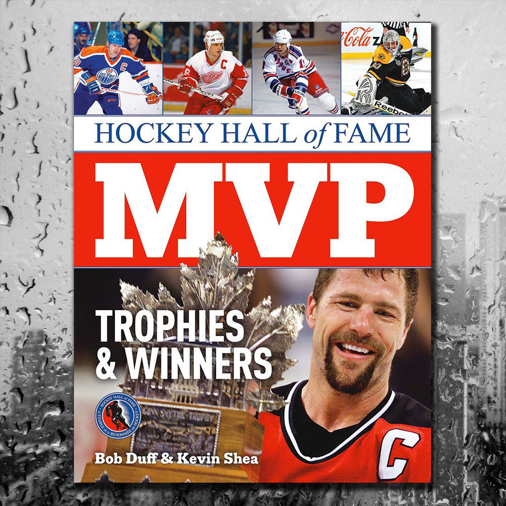 Hockey Hall Of Fame MVP: TROPHIES & WINNERS Softcover Book