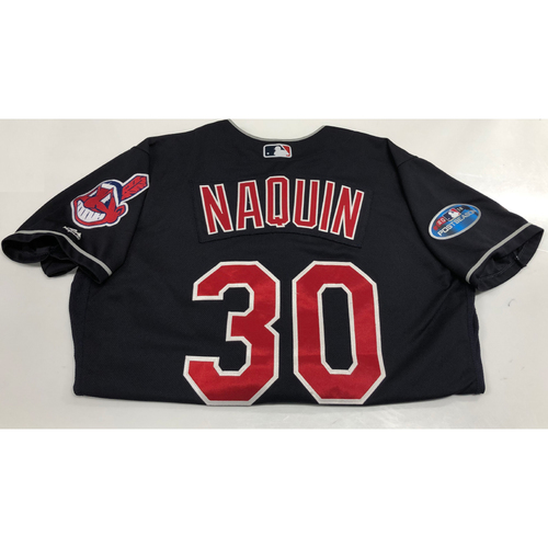 Photo of Tyler Naquin 2018 Post Season Alt. Road Jersey