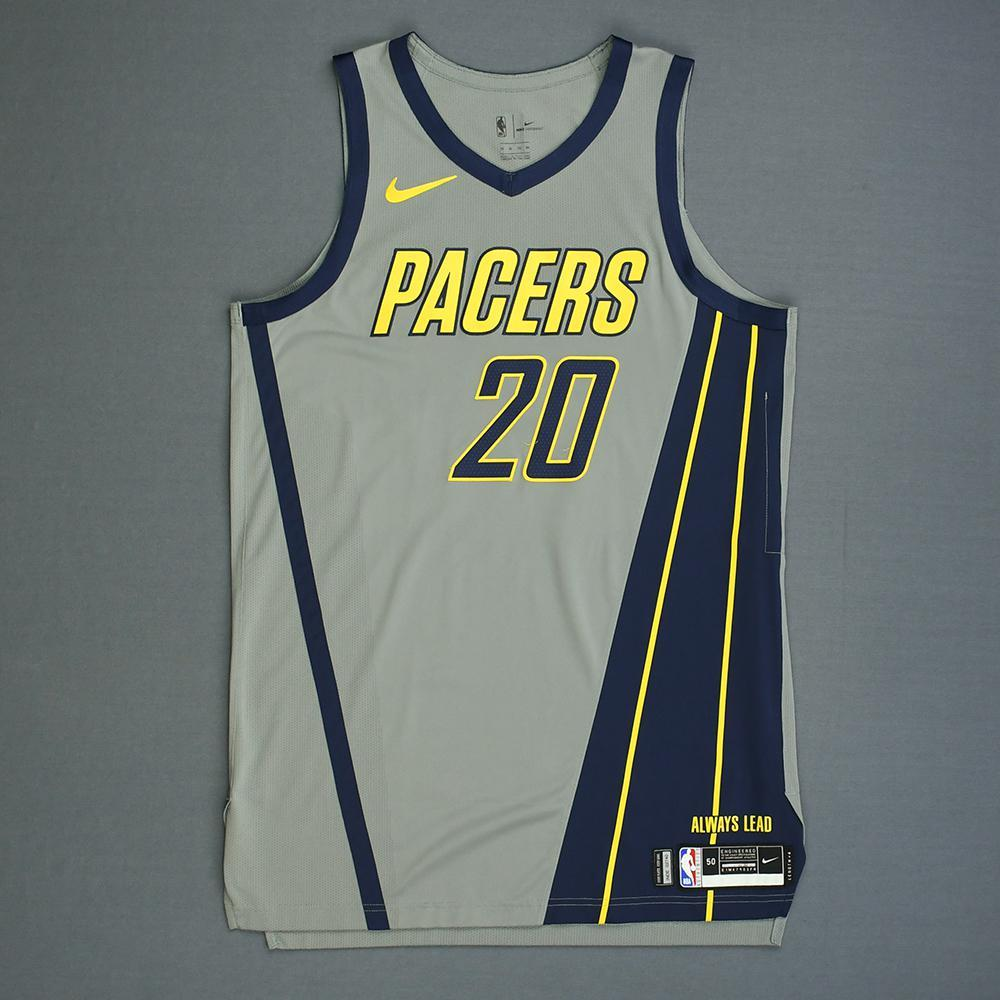 Doug McDermott - Indiana Pacers - Game-Worn City Edition Jersey ...