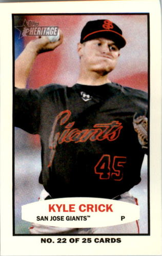 Photo of 2013 Topps Heritage Minors 1964 Bazooka #KC Kyle Crick