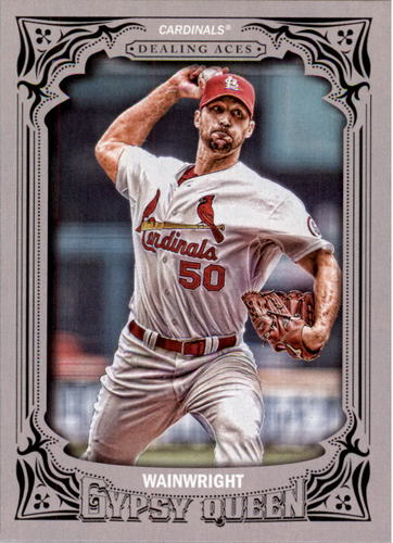 Photo of 2014 Topps Gypsy Queen Dealing Aces #DAAW Adam Wainwright