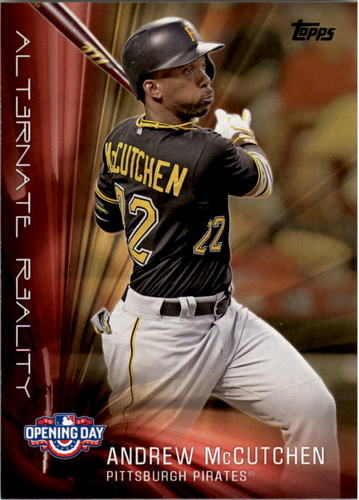 Photo of 2016 Topps Opening Day Alternate Reality #AR7 Andrew McCutchen