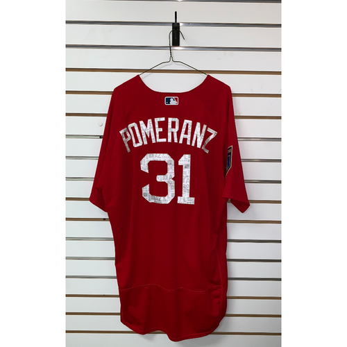 Photo of Drew Pomeranz team issued 2018 Spring Training Jersey