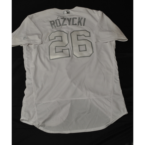 "Photo of Max ""Rozycki"" Kepler Minnesota Twins Game-Used 2019 Players' Weekend Jersey"