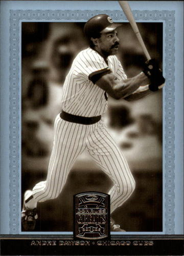 Photo of 2005 Donruss Greats #3 Andre Dawson