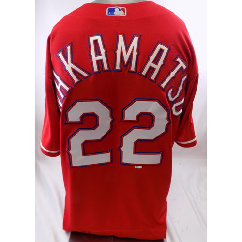 Red Team-Issued Jersey - Don Wakamatsu - 10/8/19