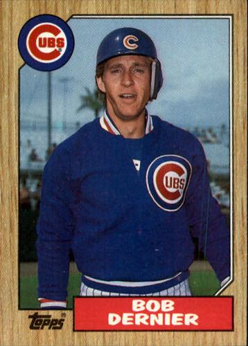 Photo of 1987 Topps #715 Bob Dernier