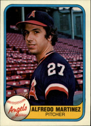 Photo of 1981 Fleer #288 Alfredo Martinez RC