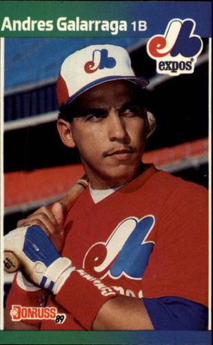 Photo of 1989 Donruss #130 Andres Galarraga